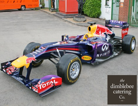 red bull f1 events midlands caterers vip menus receptions canapes hospitality east midlands birmingham catering for race teams trackside hospitality services