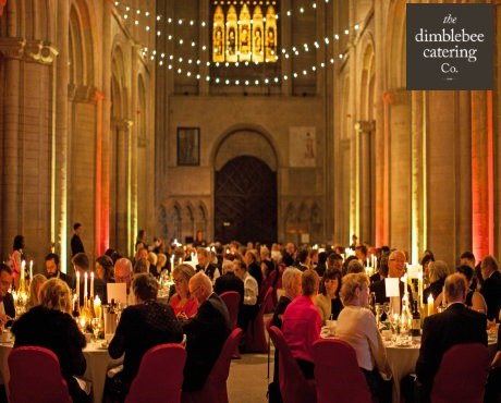 dimblebee expert event catering services london UK menus and waiting staffing for luxury weddings and large corporate dining events