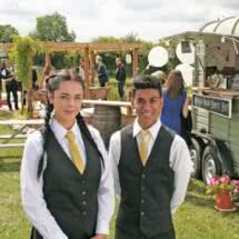 Dimblebee quality outside caterers in warwickshire wedding caterers warwick wedding caterers oxford