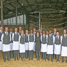 professional chefs and waiting teams for best wedding services for venues barn farm weddings at home