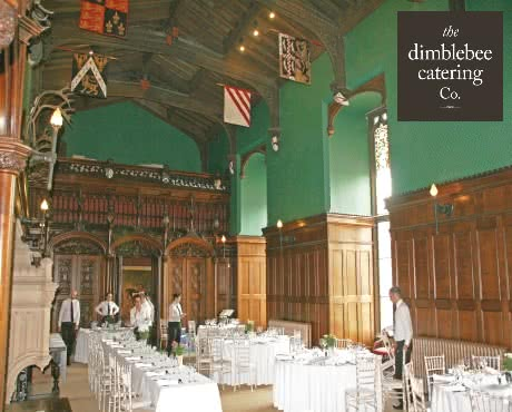 wedding caterers for historic venues leicester midlands nottingham wedding catering canapes outside caterers dimblebee